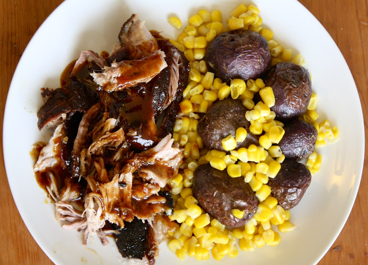 Oven-Barbecue Pulled Pork