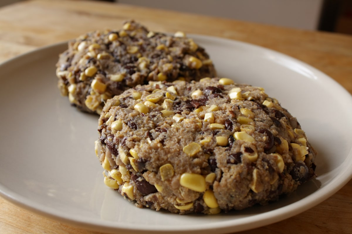 Corn and Black Bean Burger Patty