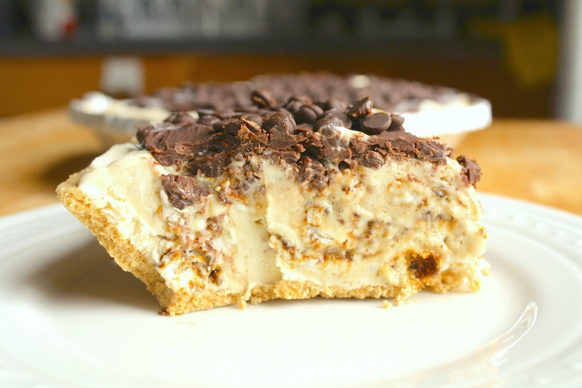 Smores Ice Cream Pie Recipe — Dishmaps