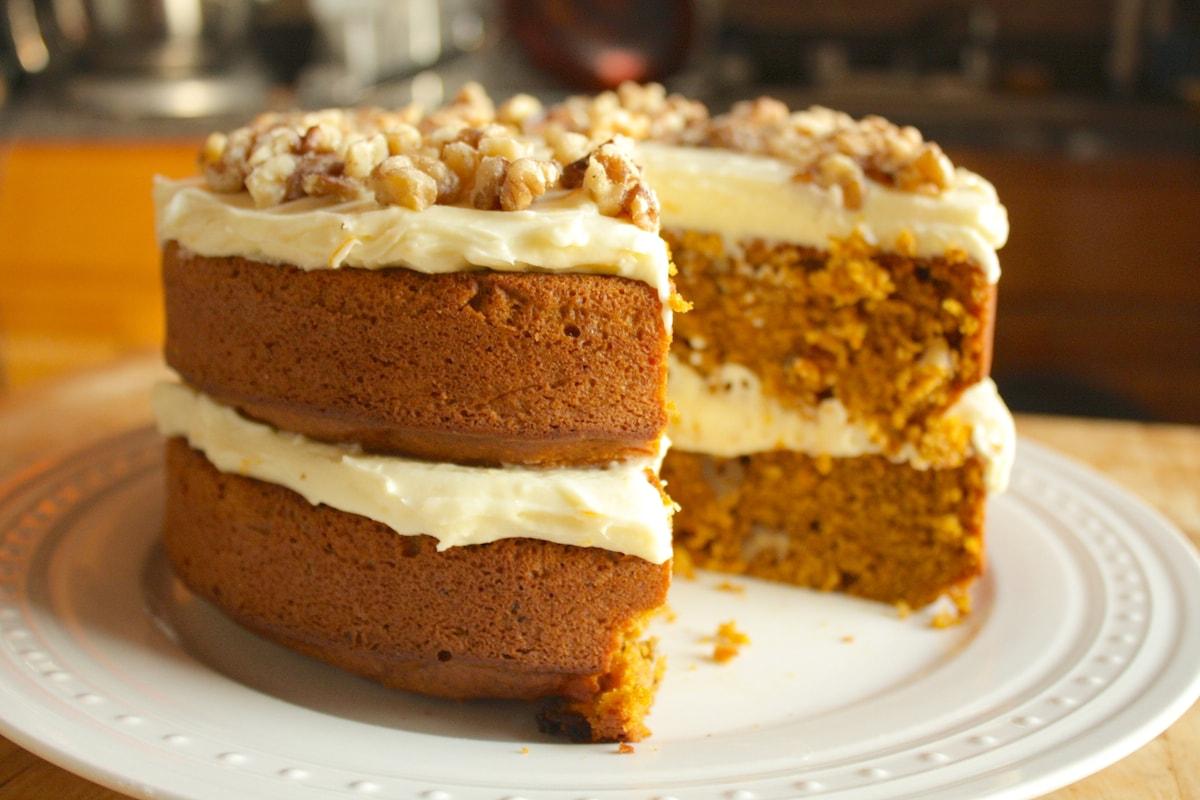 Pumpkin Cake The Hungry Hutch