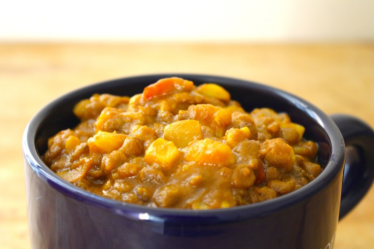 Curry Lentil Chili