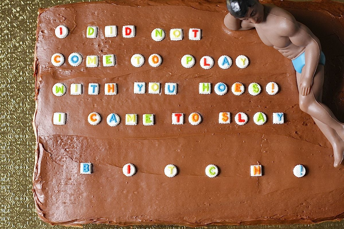 Chocolate Birthday Sheet Cake