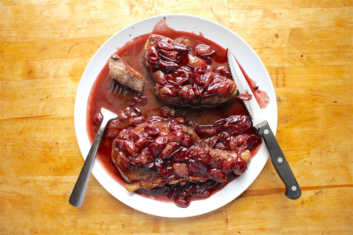 Red wine reduction recipe pork
