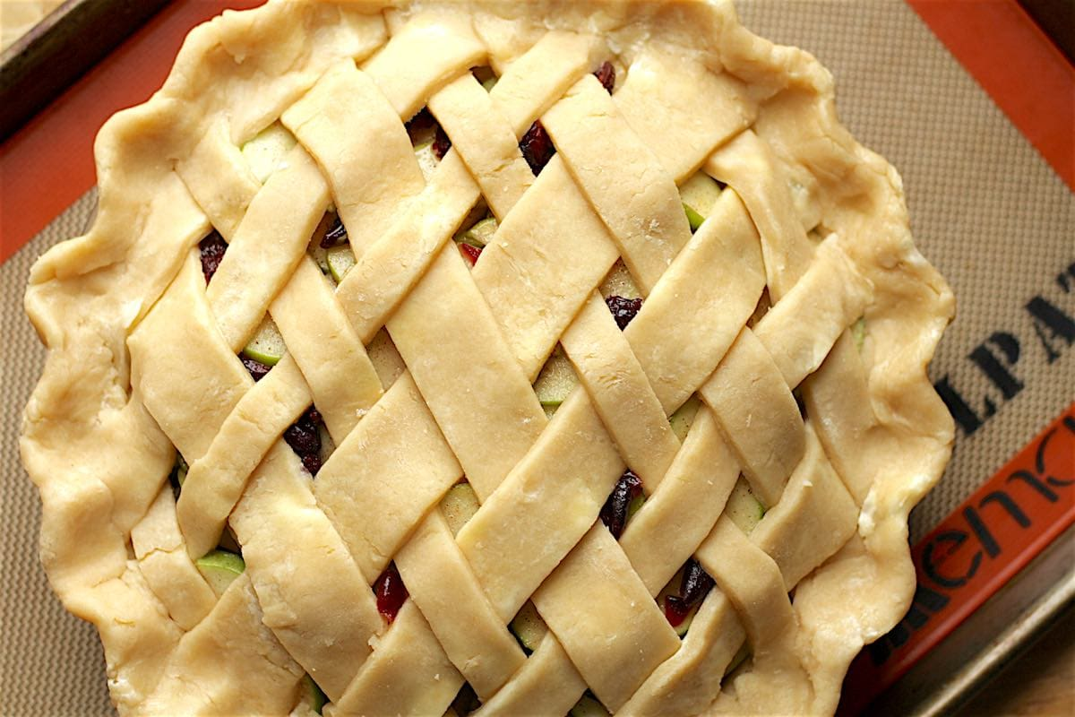 Lattice pie crust how to for Lattice prevulcanizzato