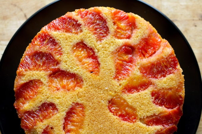Blood Orange Cornmeal Cake Recipe + BHM Virtual Potluck