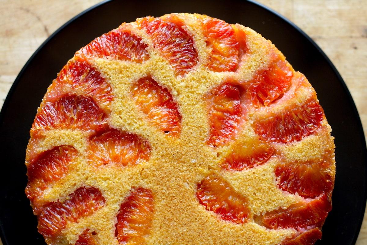 Blood Orange Cornmeal Cake Recipe + BHM Virtual Potluck