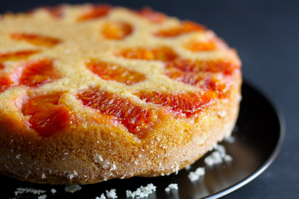 Blood Orange Cornmeal Cake Recipe The Hungry Hutch