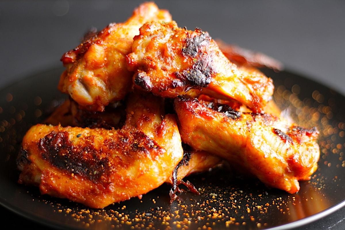 Baked Gochujang Chicken Wings Recipe