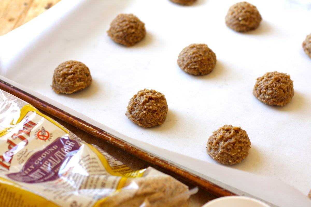 Hazelnut Flour Cookie Recipe with Chocolate Drizzle