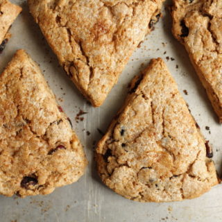 Whole-Wheat Cream Scones Recipe