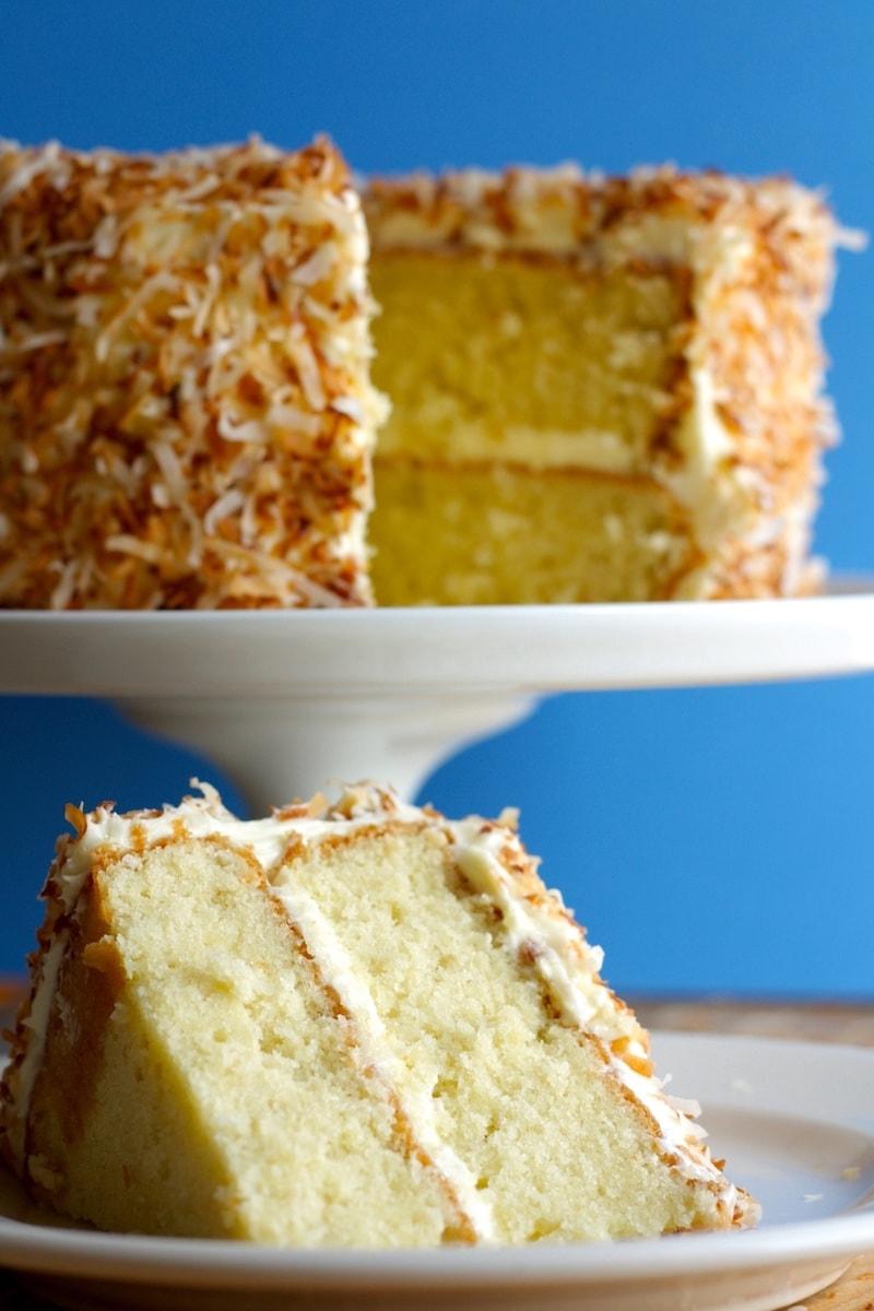 Ina Garten Lemon Coconut Cake Recipe