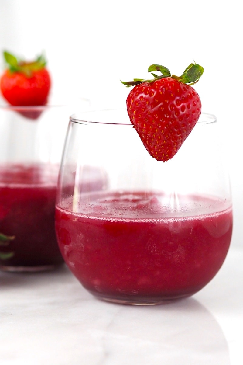 Mixed Berry Frosé (Frozen Rosé) Recipe