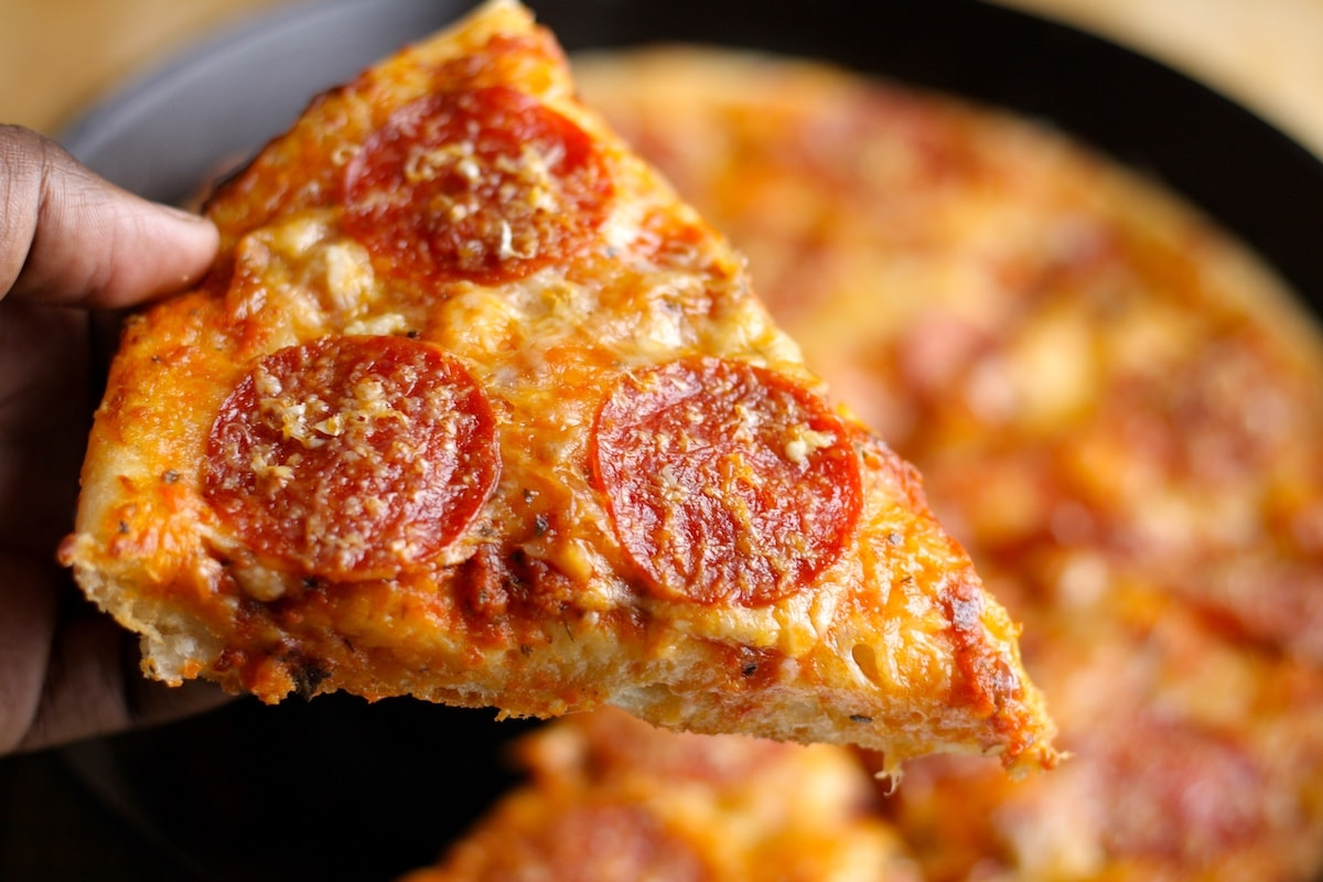 The Kitchen Food Network Cast Iron Pizza
