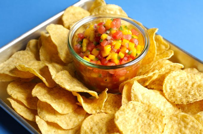 Mango Watermelon Salsa Recipe
