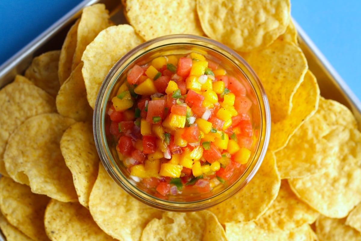 Mango Watermelon Salsa Recipe