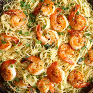 Shrimp Scampi with Pasta Recipe
