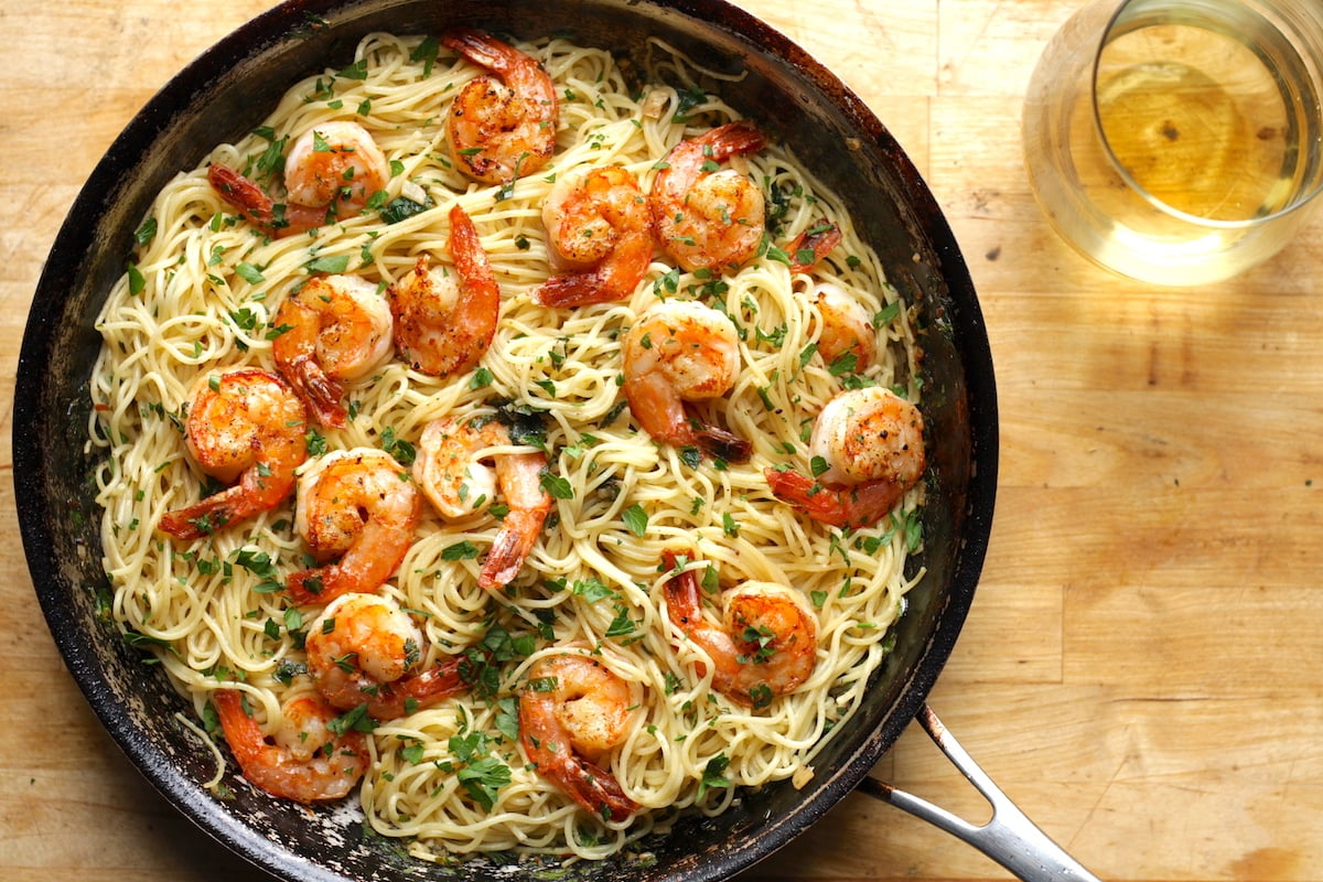 Shrimp Scampi With Pasta Recipe The Hungry Hutch Watermelon Wallpaper Rainbow Find Free HD for Desktop [freshlhys.tk]