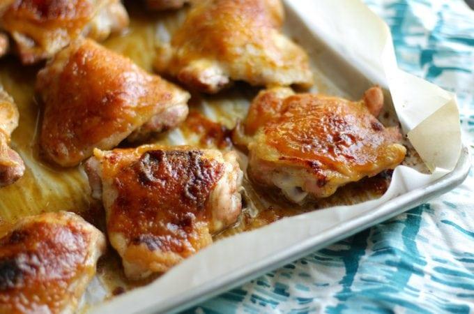 Honey Mustard Baked Chicken Recipe