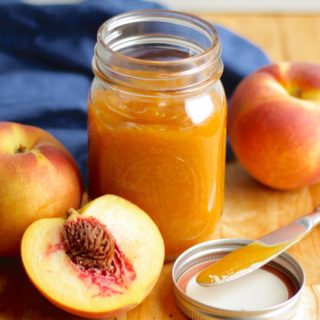 Slow Cooker Peach Butter Recipe