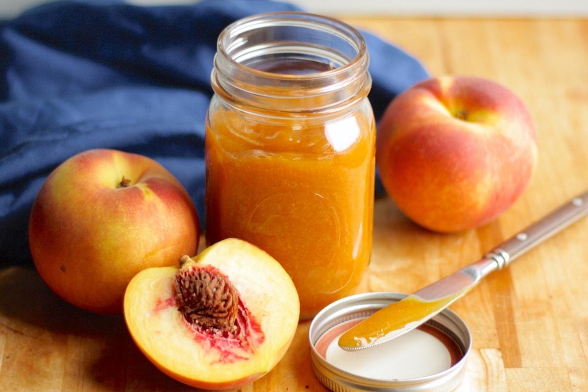 Slow Cooker Peach Butter Recipe