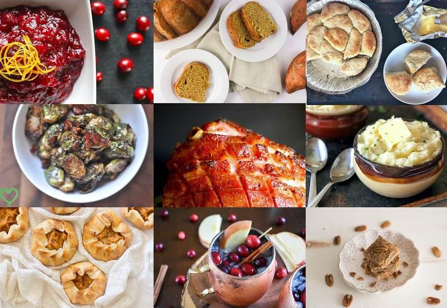 Black Food Blogger Thanksgiving Recipe Roundup