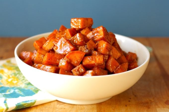 Stove Top Candied Sweet Potatoes Recipe