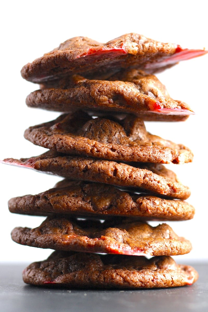 Double Chocolate Chip Candy Cane Cookie Recipe