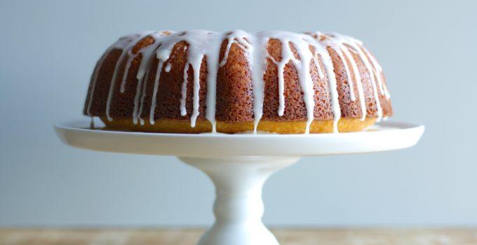 Orange Bundt Cake Recipe with Vanilla Glaze + Black History Month Virtual Potluck