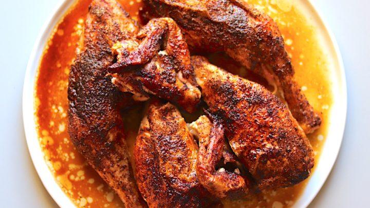 Chili Powder Cumin Roasted Chicken Recipe The Hungry Hutch
