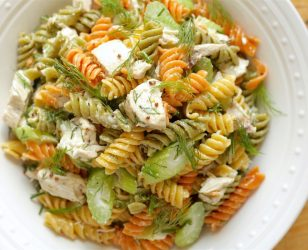 Dill Chicken Pasta Salad